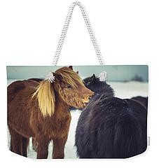 Horse Friends Forever Weekender Tote Bag