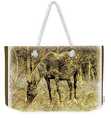 Horse Grazing On Pasture 2 Weekender Tote Bag