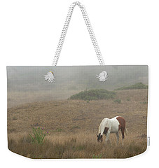 Horse In The Mist Weekender Tote Bag by Diane Diederich
