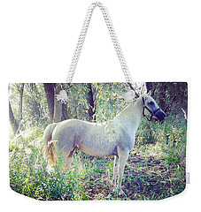 Horse Weekender Tote Bag by Marco P