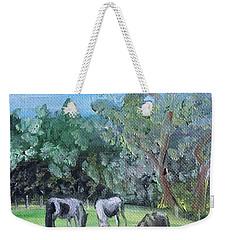 Horse Meadow Weekender Tote Bag