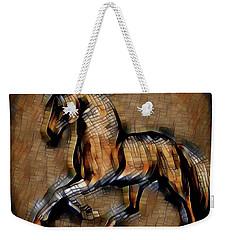 Horse Mosaic Weekender Tote Bag