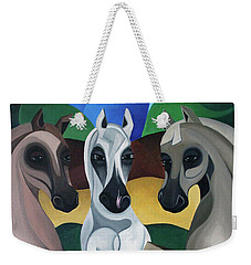 Horse Play Weekender Tote Bag