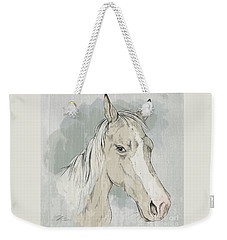 Horse Portrait-farm Animals Weekender Tote Bag