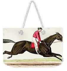 Horse Race Weekender Tote Bag