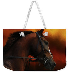 Horse Riding Weekender Tote Bag
