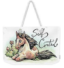 Fruit Of The Spirit Self Control Weekender Tote Bag