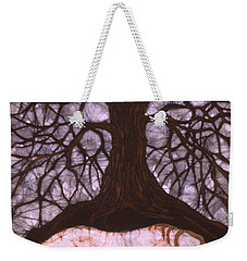 Horse Sleeps Below Tree Of Rebirth Weekender Tote Bag