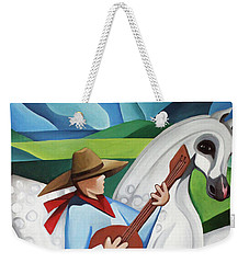 Horse Song Weekender Tote Bag