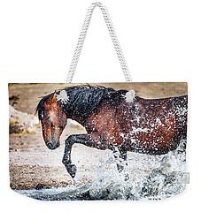 Horse Splash Weekender Tote Bag