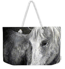 Horse With The Mona Lisa Smile Weekender Tote Bag