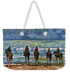 Horseback Beach Memories Weekender Tote Bag