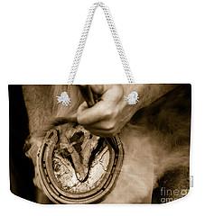 Horsehoe Fitting Weekender Tote Bag