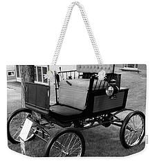 Horseless Carriage-bw Weekender Tote Bag