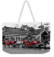 Horses And Carriages Weekender Tote Bag