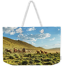 Horses And More Horses Weekender Tote Bag