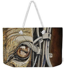 Horses Eye Weekender Tote Bag