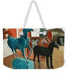 Horses Four Weekender Tote Bag