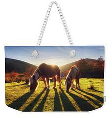 Horses In Austigarmin Weekender Tote Bag