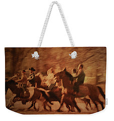 Horses In Motion  Weekender Tote Bag