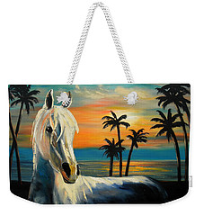 Horses In Paradise  Tell Me Your Dream Weekender Tote Bag