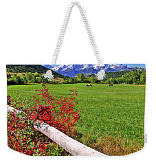 Horses In The San Juans Weekender Tote Bag by Scott Mahon