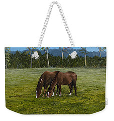 Horses Of Romance Weekender Tote Bag