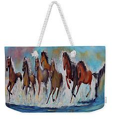 Horses Of Success Weekender Tote Bag