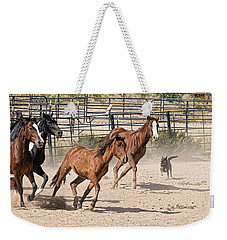 Horses Unlimited #3a Weekender Tote Bag