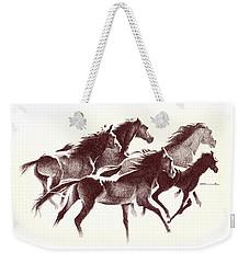 Horses2 Mug Weekender Tote Bag