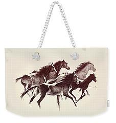 Horses3 Mug Weekender Tote Bag