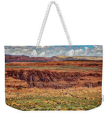 Weekender Tote Bag featuring the photograph Horseshoe Bend Arizona #2 by Jennifer Rondinelli Reilly - Fine Art Photography