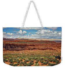 Weekender Tote Bag featuring the photograph Horseshoe Bend  - Arizona by Jennifer Rondinelli Reilly - Fine Art Photography