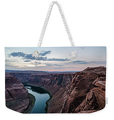Weekender Tote Bag featuring the photograph Horseshoe Bend No. 2 by Margaret Pitcher