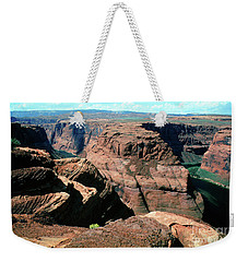 Horseshoe Bend Of The Colorado River Weekender Tote Bag by Wernher Krutein
