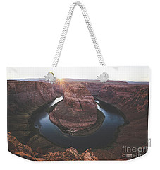 Horseshoe Bend Sunset Weekender Tote Bag by JR Photography