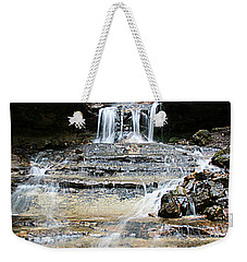 Weekender Tote Bag featuring the photograph Horseshoe Falls #6735 by Mark J Seefeldt