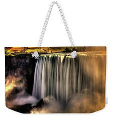 Horseshoe Falls Early Autumn No 03 Weekender Tote Bag