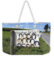 Horseshoes For Sale Weekender Tote Bag