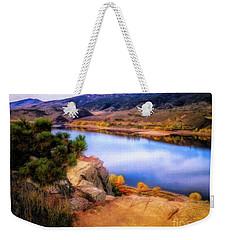 Horsetooth Lake Overlook Weekender Tote Bag
