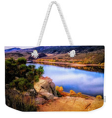 Horsetooth Lake Overlook Weekender Tote Bag