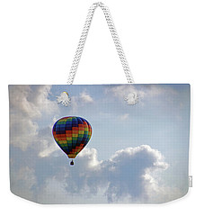 Weekender Tote Bag featuring the photograph Hot Air Balloon by Angela Murdock