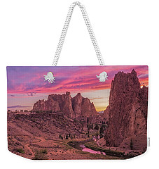 Weekender Tote Bag featuring the photograph Hot August Night  by Patricia Davidson