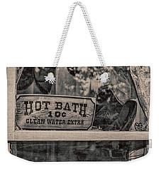 Hot Bath Weekender Tote Bag