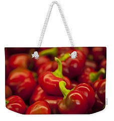 Hot Cherry Peppers Weekender Tote Bag