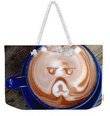 Hot Chocolate Bear Weekender Tote Bag