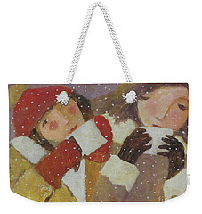Hot Chocolate Weekender Tote Bag