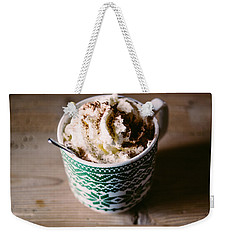 Hot Chocolate Weekender Tote Bag by Pati Photography