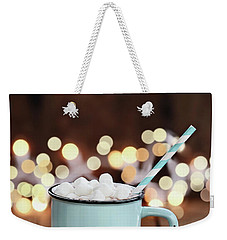 Hot Cocoa With Mini Marshmallows Weekender Tote Bag by Stephanie Frey