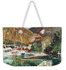 Hot Day At The Marina Weekender Tote Bag